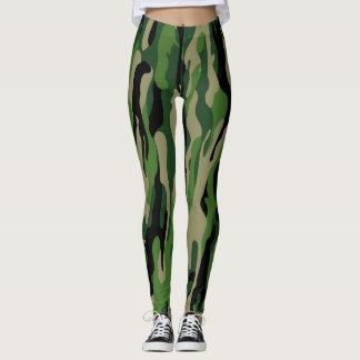 Forest Camouflage put-went Leggings