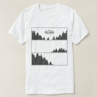 Forest Camping Outdoor Adventure T-Shirt