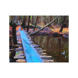 forest crossing canvas print