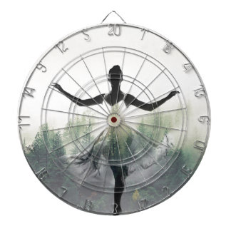 Forest Dancer Dartboard