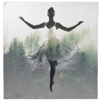 Forest Dancer Napkin