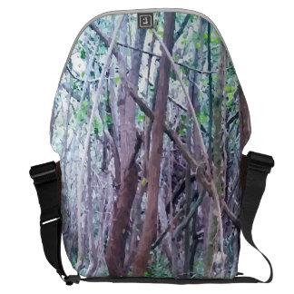 Forest Design Messenger Bag