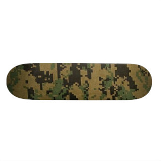 Forest Digital Camouflage Skateboard Pro