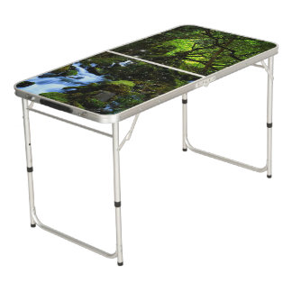 Forest dreams beer pong table