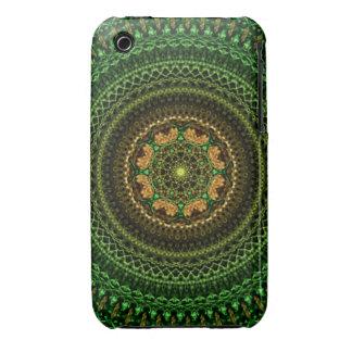 Forest eye Mandala Case-Mate iPhone 3 Case