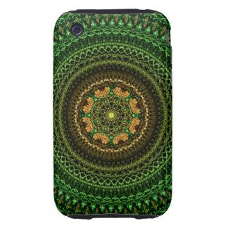Forest eye Mandala iPhone 3 Tough Cases