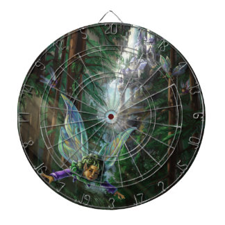 Forest Faires and Waterfall Castle Dartboard