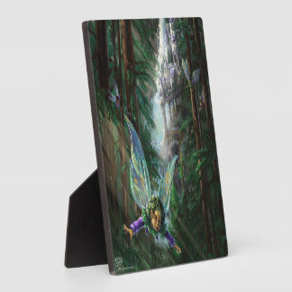 Forest Faires and Waterfall Castle Plaque