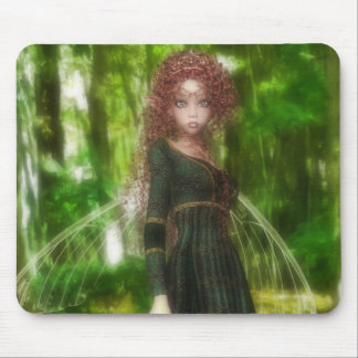 Forest Fairy Princess Mouse Pad