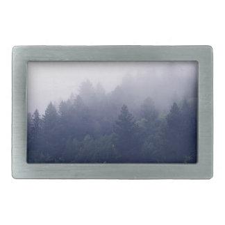 Forest Fog Belt Buckles
