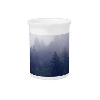 Forest Fog Beverage Pitcher