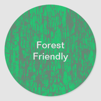 Forest friendly Sticker