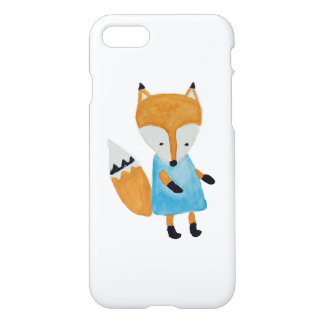 Forest Friends Adorable little Woodland Fox iPhone 7 Case