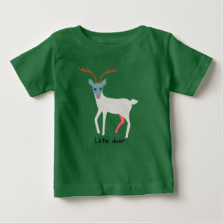 Forest friends - baby animals = kids. Little deer. Baby T-Shirt