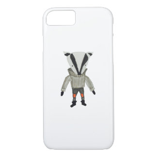 Forest Friends Cute Little Badger iPhone 7 Case