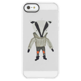 Forest Friends Cute Little Badger Permafrost® iPhone SE/5/5s Case