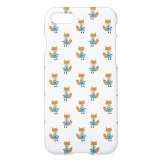 Forest Friends Fox All-Over Repeat Pattern iPhone 7 Case