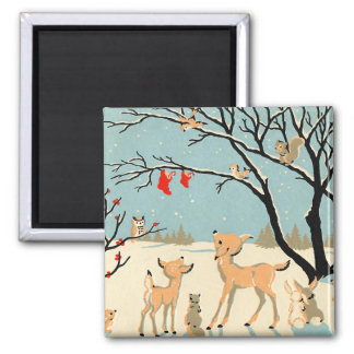 Forest Friends Magnet