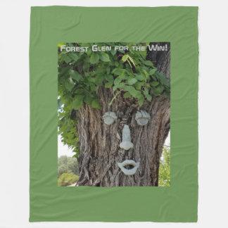 Forest Glen for the Win! Fleece Blanket
