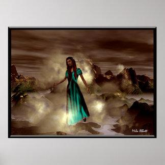 Forest Goddess Poster