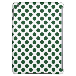 Forest Green Polka Dots
