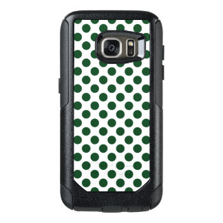 Forest Green Polka Dots OtterBox Samsung Galaxy S7 Case