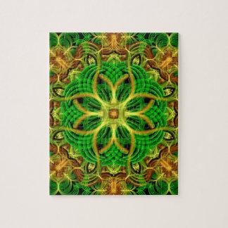 Forest Heart Mandala Jigsaw Puzzle