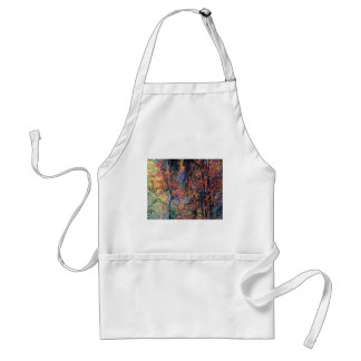 Forest in Autumn Adult Apron