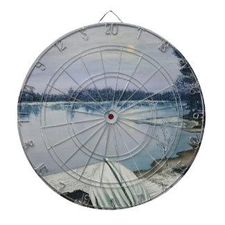 Forest lake dartboard