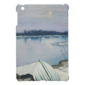 Forest lake iPad mini cover