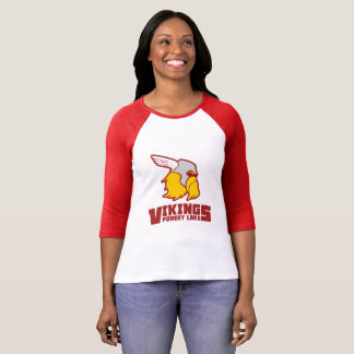 Forest Lake Vikings - Ladies Raglan T-Shirt