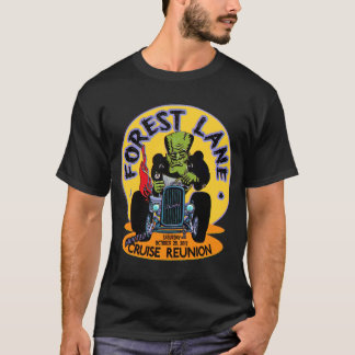 Forest Lane Haunted Cruise Reunion T-Shirt