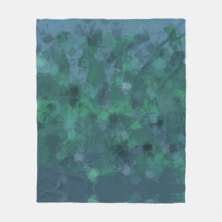 Forest Light Fleece Blanket