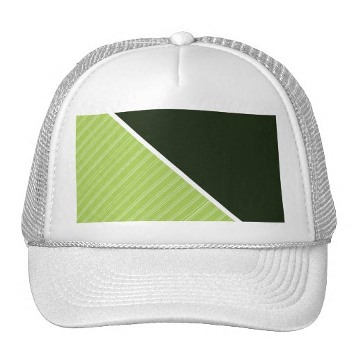 Forest & Lime Green Trucker Hats