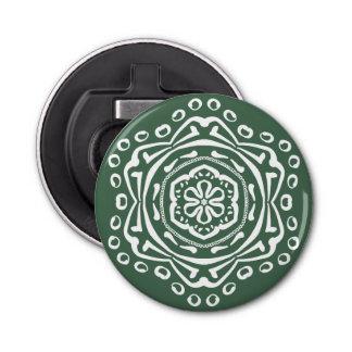 Forest Mandala Bottle Opener