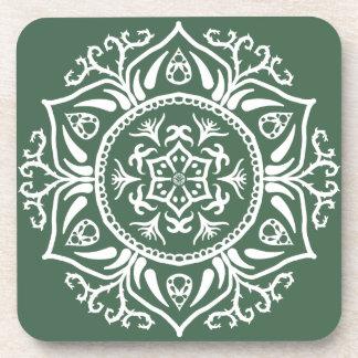 Forest Mandala Coaster