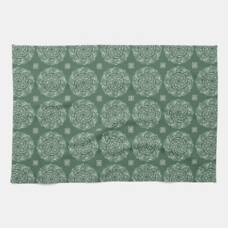Forest Mandala Tea Towel