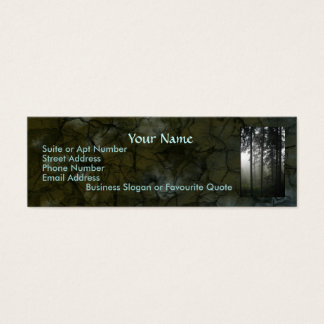 """FOREST MIST"" Nature Profile & Business Cards"