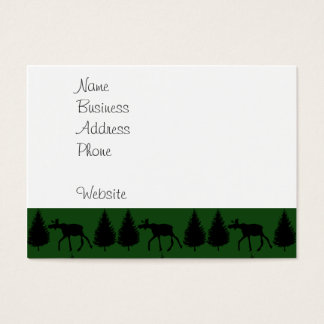 Forest Moose Wolf Wilderness Mountain Cabin Rustic