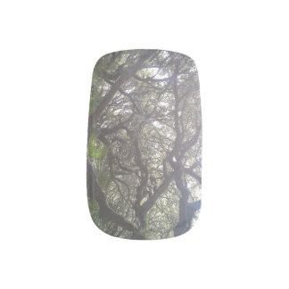 Forest Nails Minx Nail Art