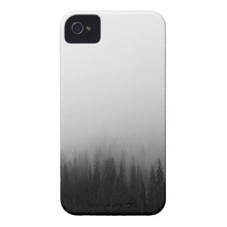 Forest Nature Landscape Scene Foggy Mystical iPhone 4 Cases