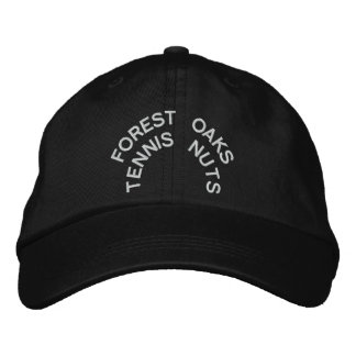 FOREST OAKS TENNIS NUTS!! EMBROIDERED HAT