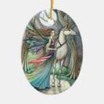 Forest of Dreams Fairy and Unicorn Ornament