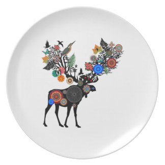 FOREST OF LIFE PLATE