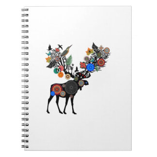 FOREST OF LIFE SPIRAL NOTE BOOKS