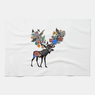 FOREST OF LIFE TEA TOWEL
