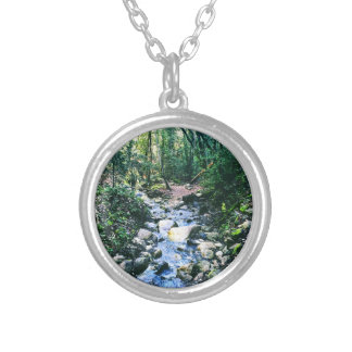 Forest of Nisene Silver Plated Necklace