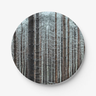 Forest Paper Plate