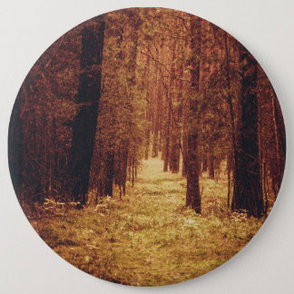 Forest Path ... 6 Cm Round Badge