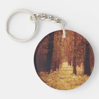 Forest Path ... Key Ring